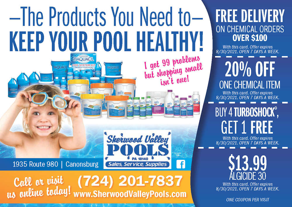 The products you need to keep your pool healthy!