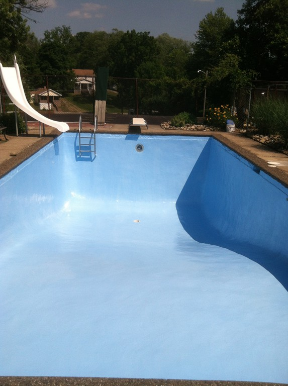 Pool painting sherwood valley pools home of the hard for Pool design mcmurray pa